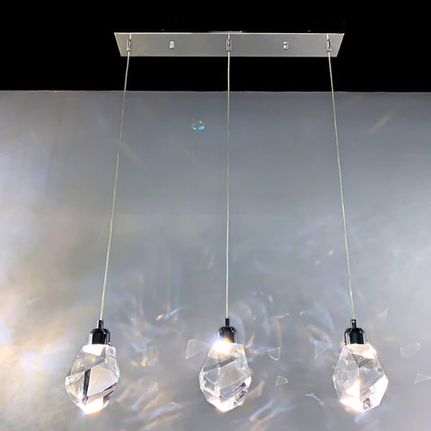 Crystallite 3-pendant Light