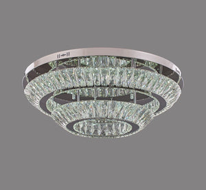 Double Ring Flushed Ceiling Light
