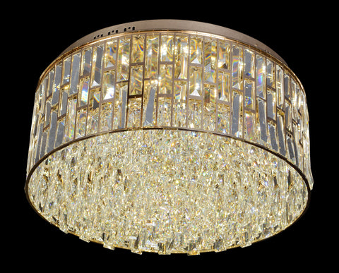 500 Crystal Forrest Ceiling Flushed Light