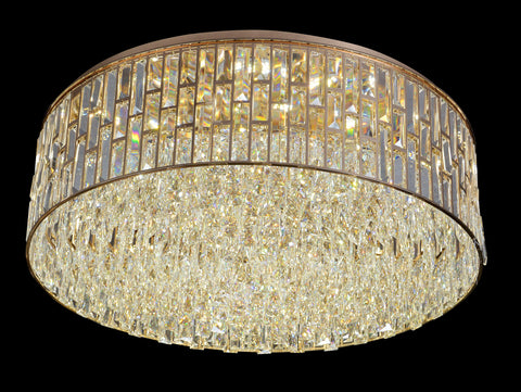 800 Crystal Forrest Ceiling Flushed Light