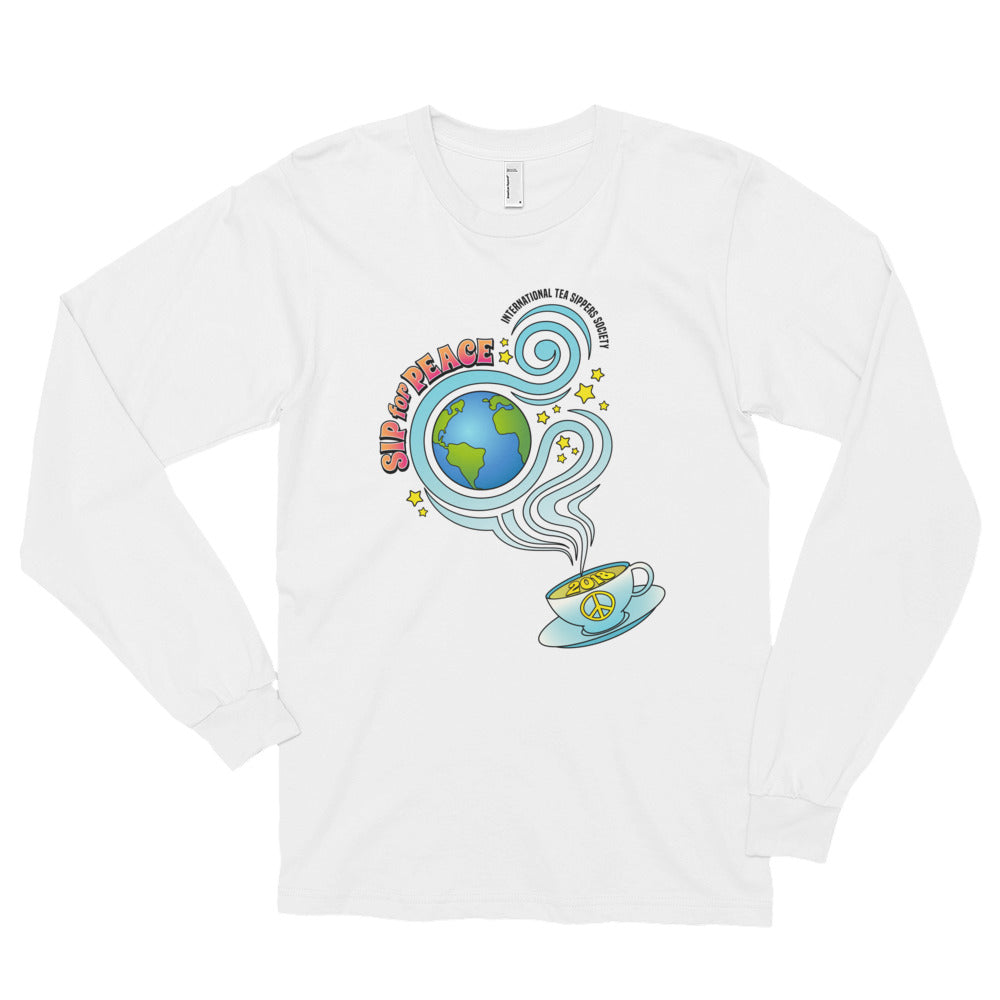 Sip for Peace Commemorative Long sleeve t-shirt (unisex)