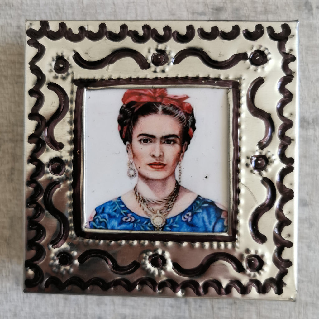 Frida Kahlo Tin Box