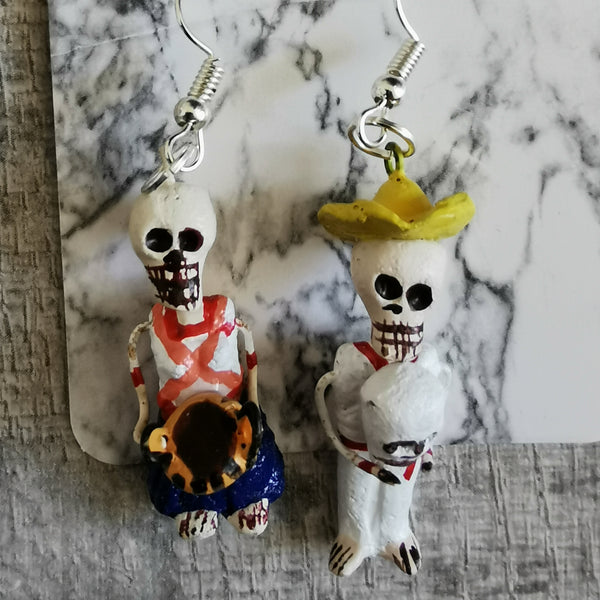 Figurine Earrings