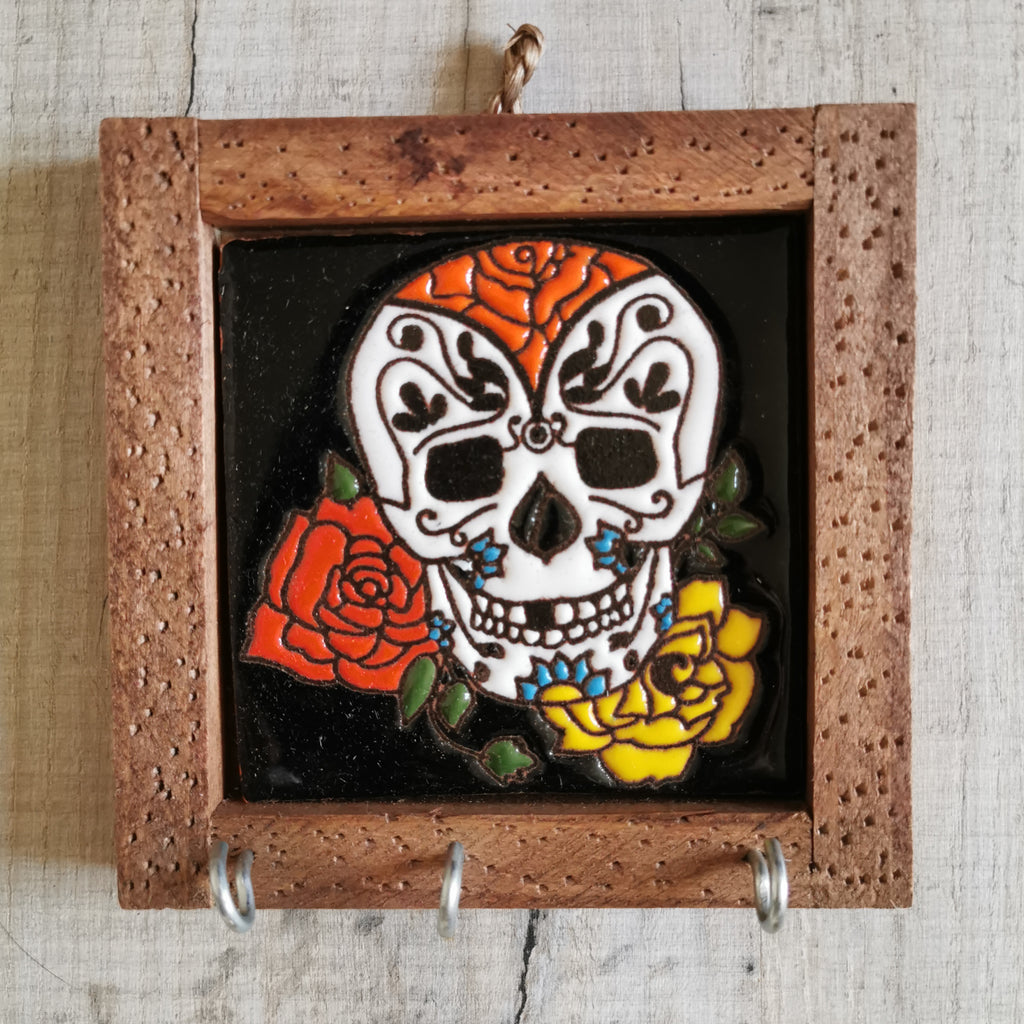 Sugar Skull Tiled Hanger
