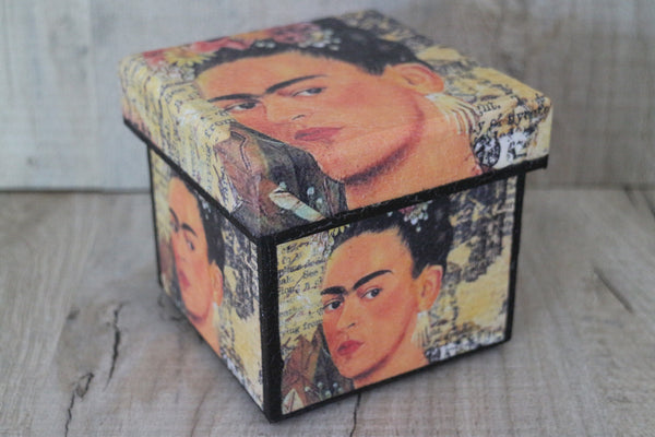 Frida Kahlo wooden box