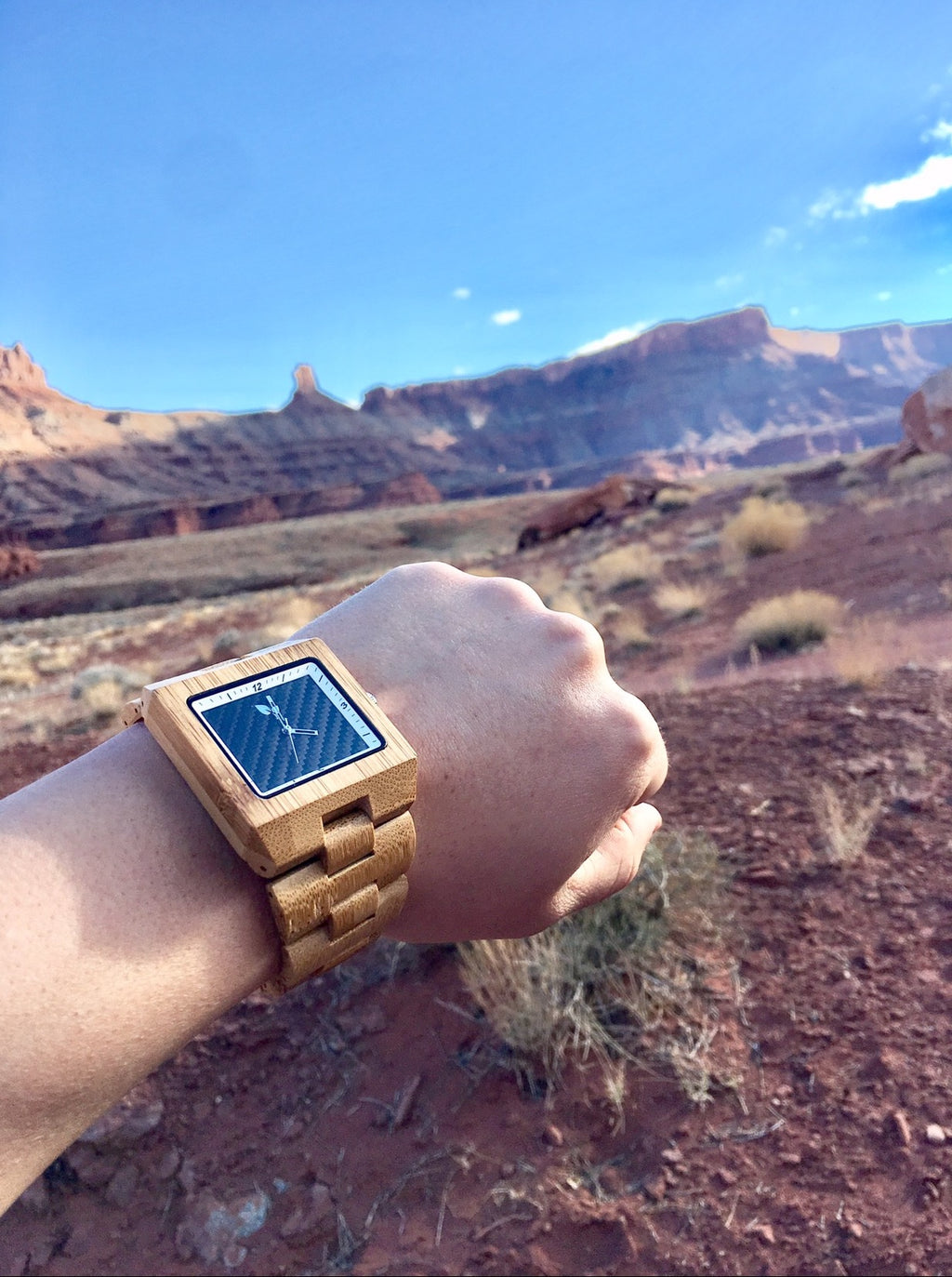 Moabist® Carbon™ Bamboo Watch