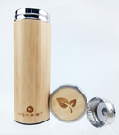 Bamboo Thermo Bottle 12 oz