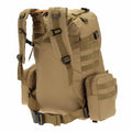 Tactical single shoulder backpack