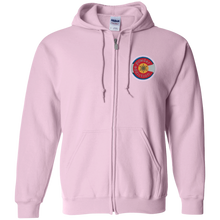 Colorado Ski Season Zip Up Hooded Sweatshirt