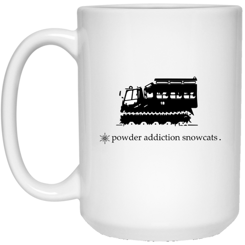 Fresh Tracks White Mug