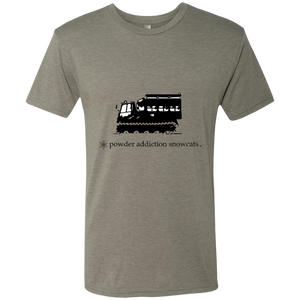Snowcat Skiing and Snowboarding triblend T-Shirt