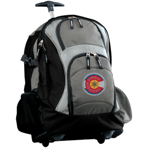 Colorado Ski Season  Wheeled Backpack