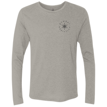 Powder Addiction Snowcat Skiing and Snowboarding  Triblend LS Crew