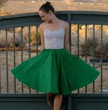 JULIETTE Rockabilly Swing Skirt, 22 Colors, Sizes XXS-3X