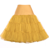 Vintage-Style Petticoat GOLD YELLOW