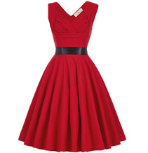 MAYA Red Ruched Sweetheart Dress