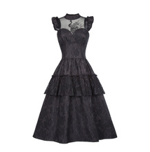Steampunk Black Pride and Prejudice Dress