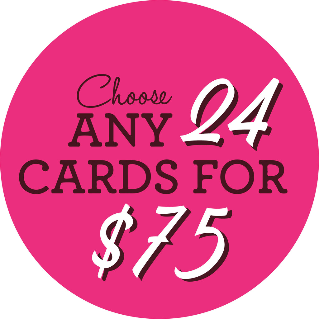 Choose Any 24 Cards!
