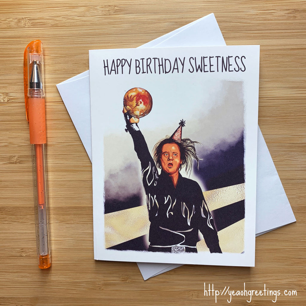 Kingpin Movie Birthday Card