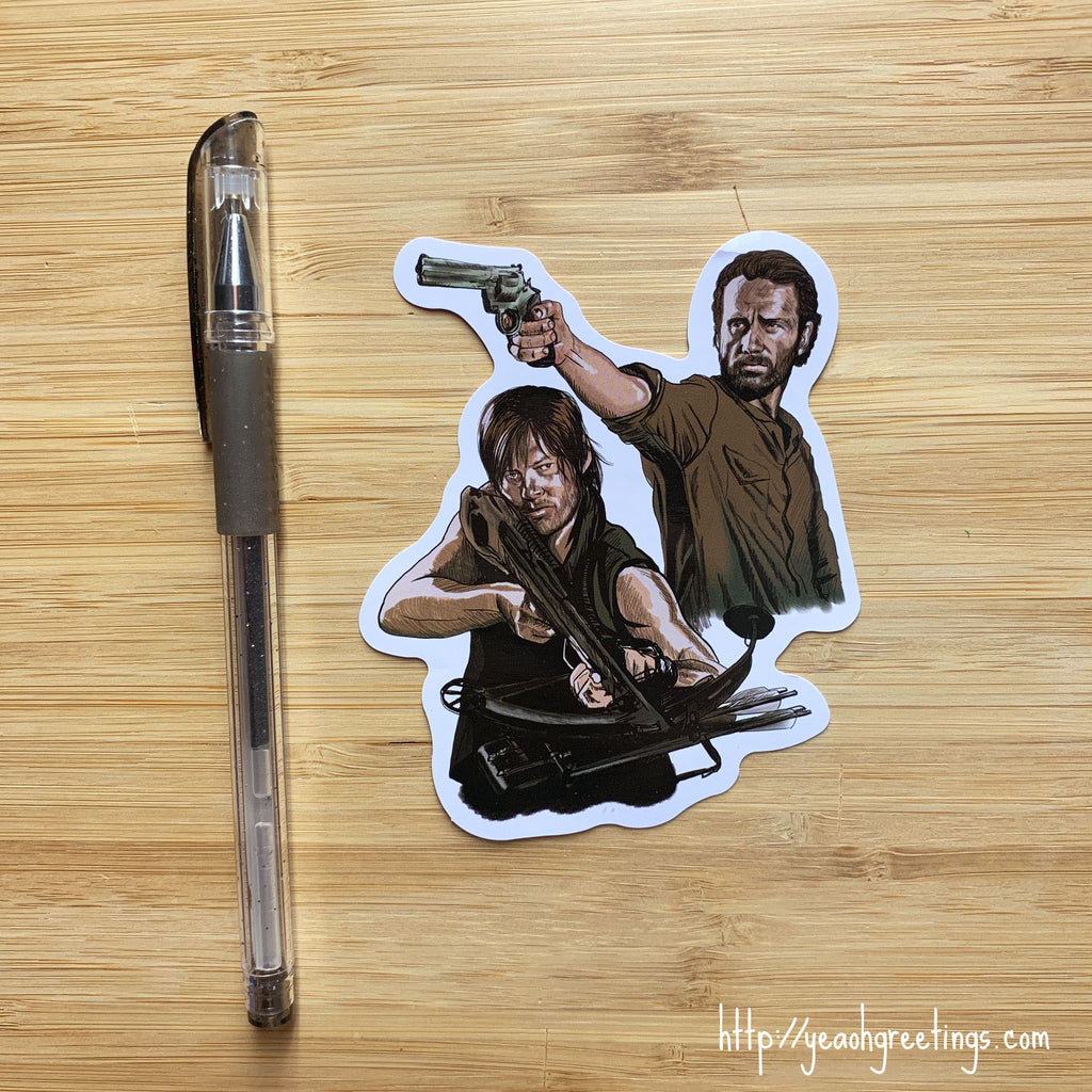 Walking Dead Vinyl Sticker
