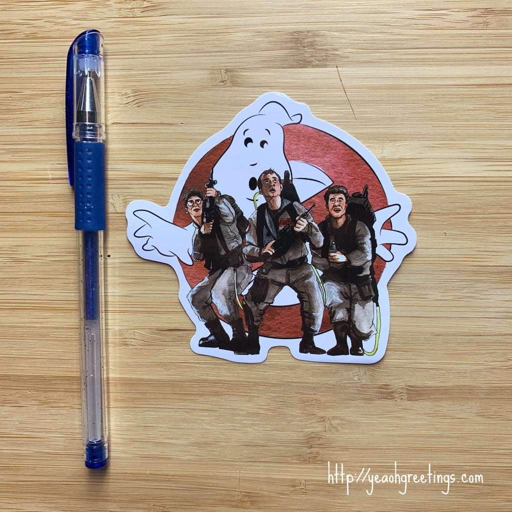 Ghostbusters Vinyl Sticker