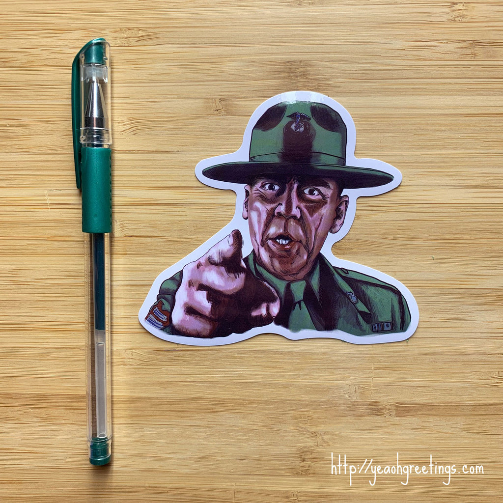 Full Metal Jacket Vinyl Sticker