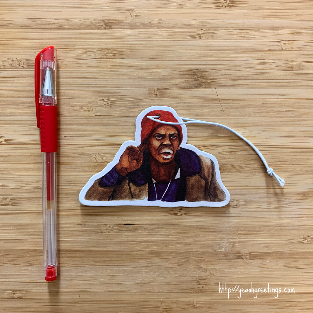 Tyrone Biggums Air Freshener