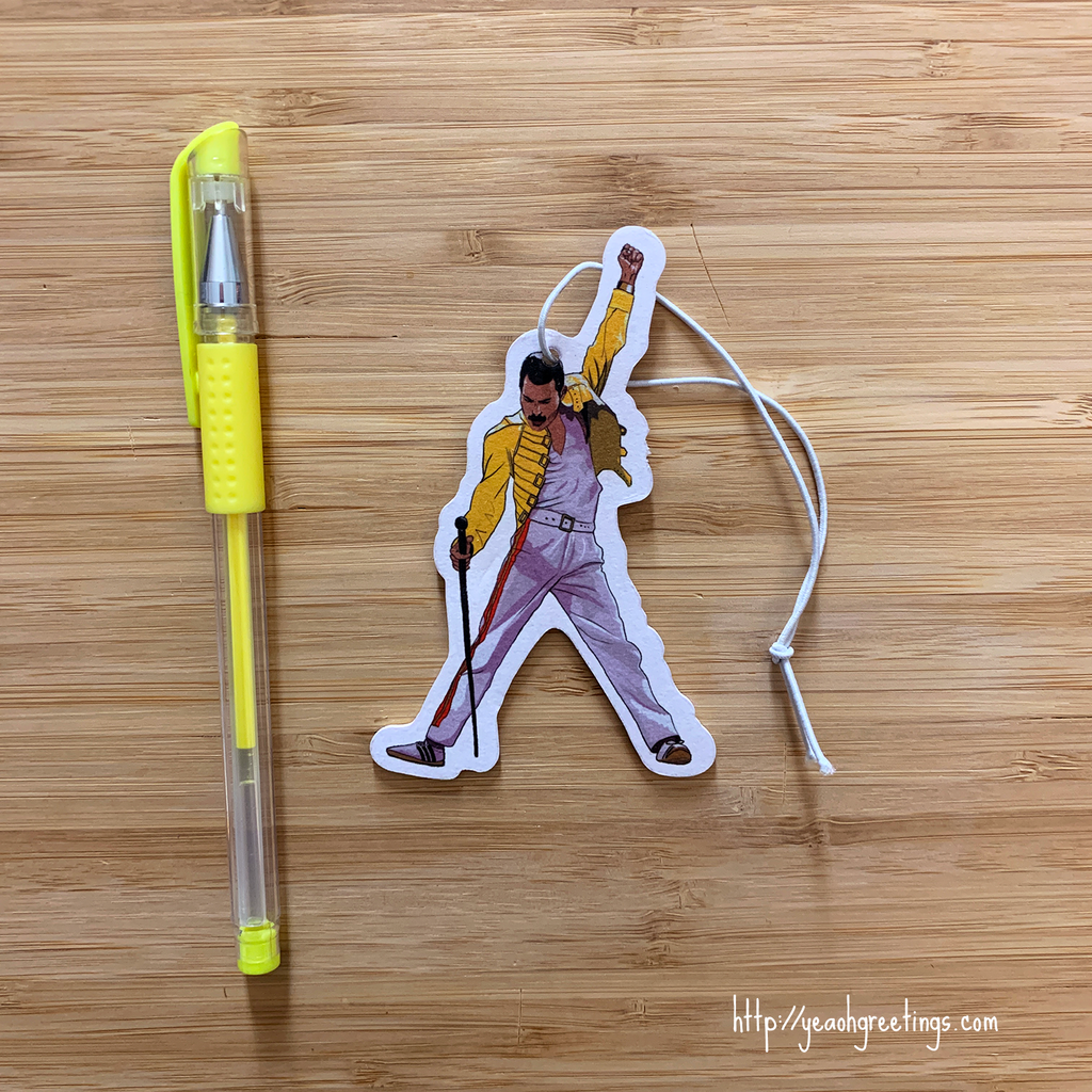 Freddie Mercury Air Freshener