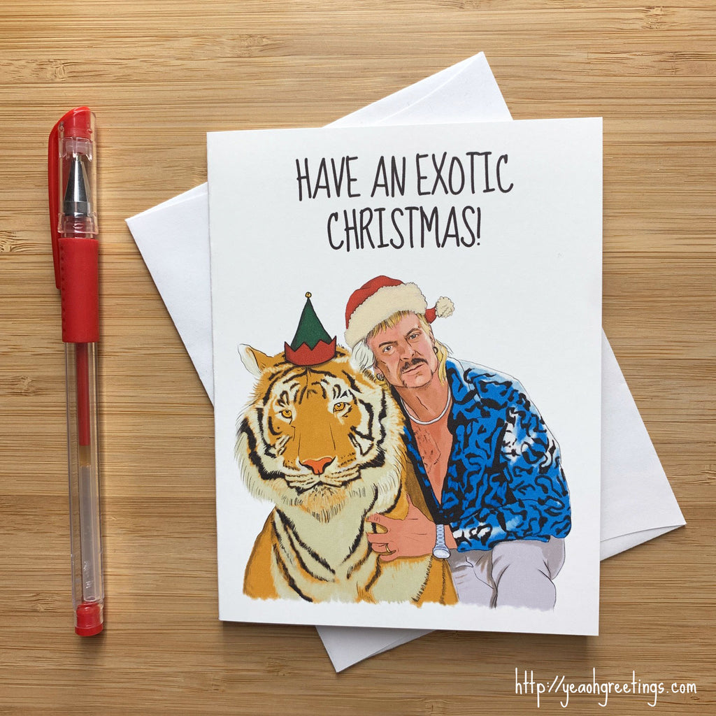 Joe Exotic Christmas Card