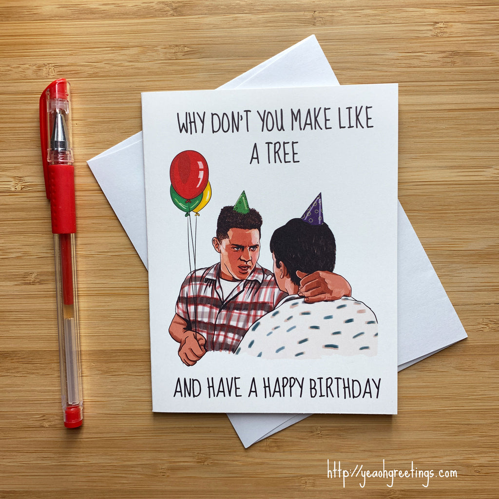 Funny Biff Birthday Card