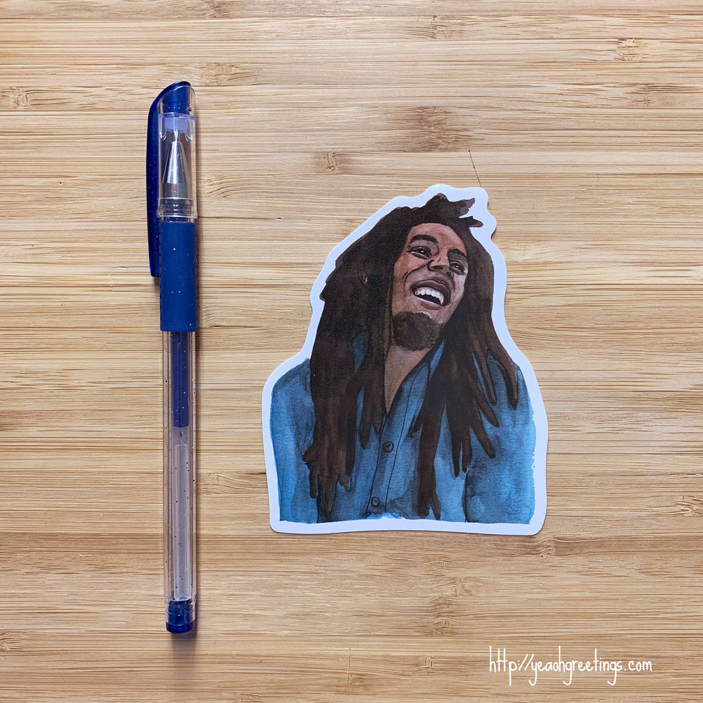 Reggae Legend Vinyl Sticker
