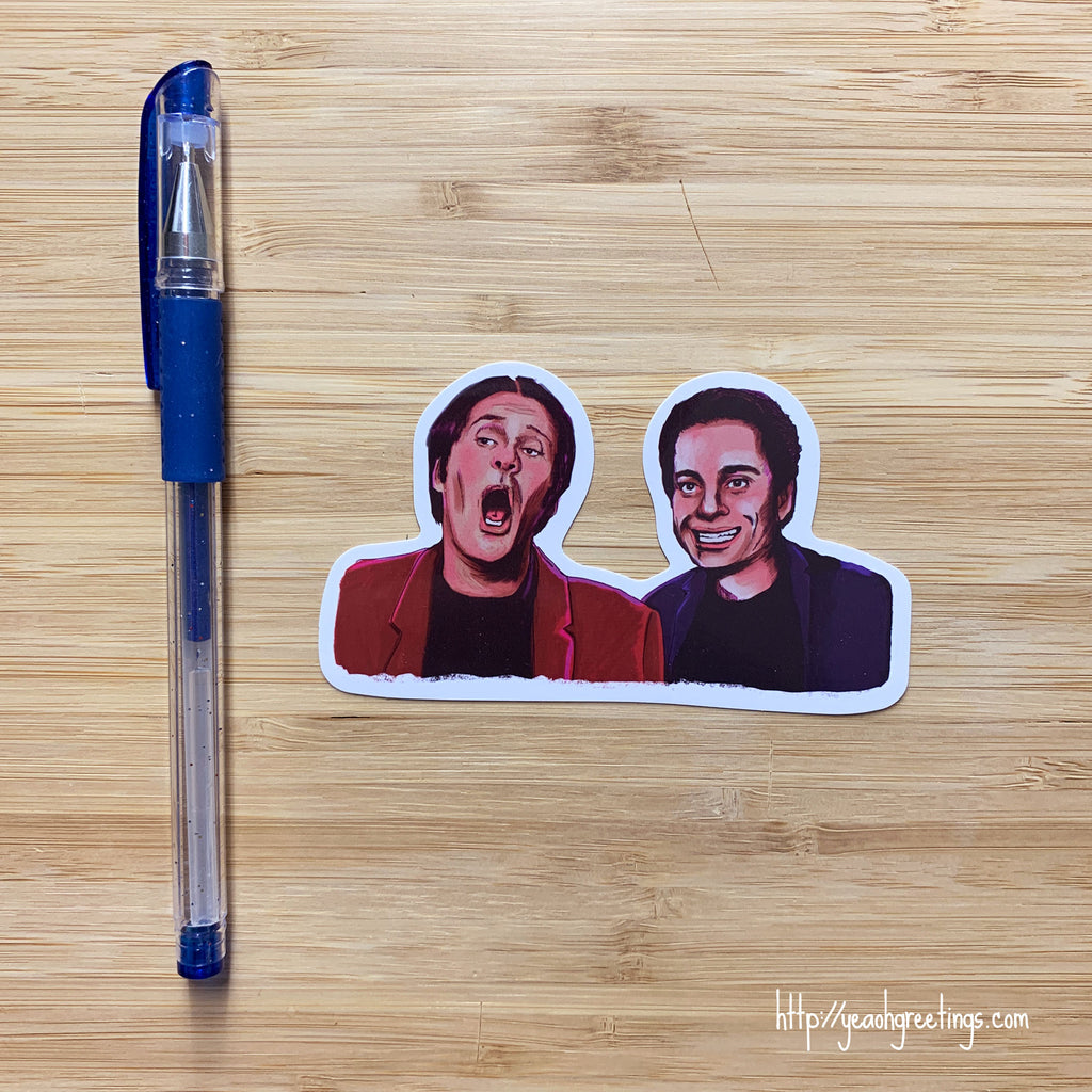 Night at the Roxbury Vinyl Sticker