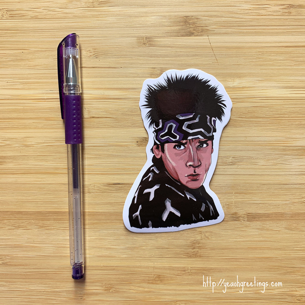 Blue Steel Zoolander Vinyl Sticker