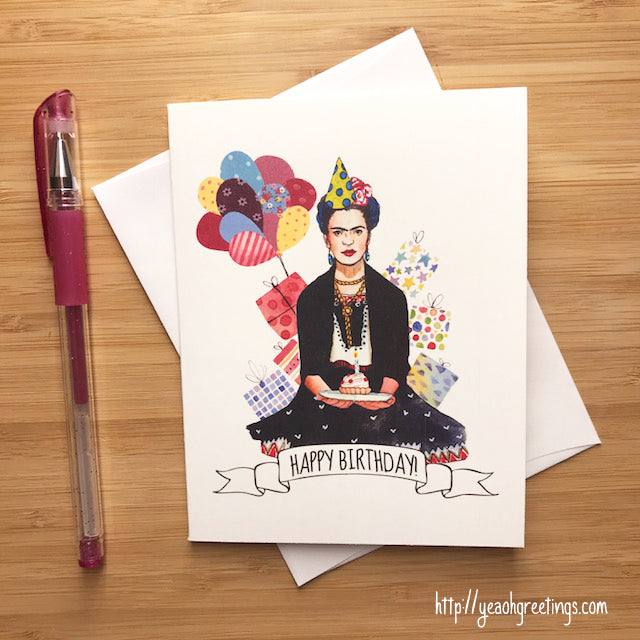 Mexican Artist Birthday Card