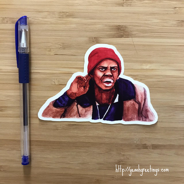 Tyrone Biggums Sticker