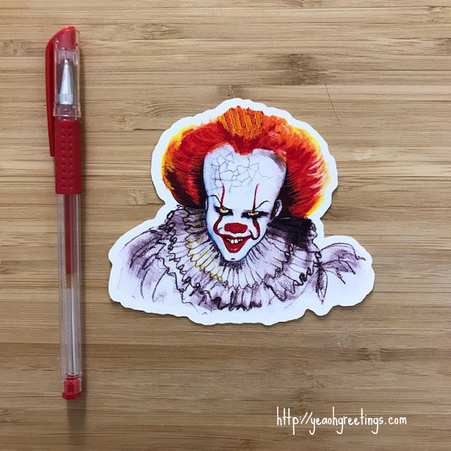 Pennywise the Clown Sticker