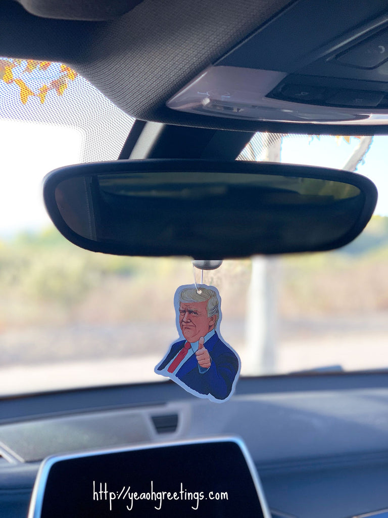 Donald Trump Air Freshener