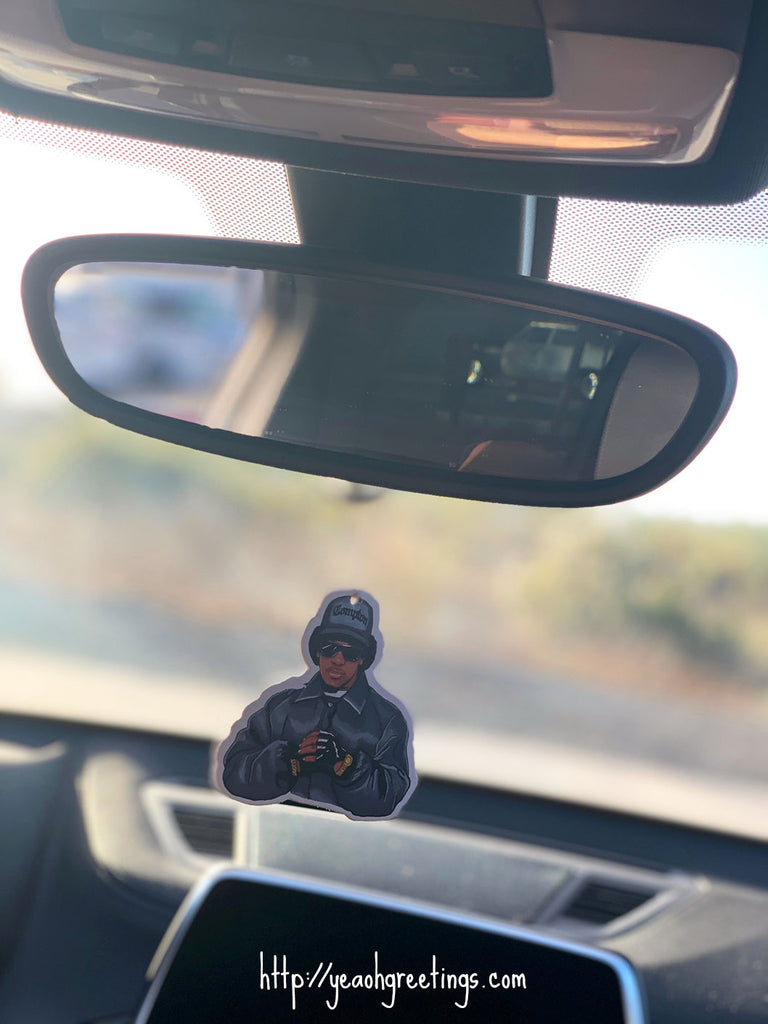 Rap Music Air Freshener