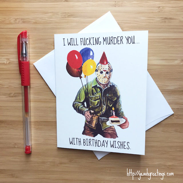 Funny Jason Birthday Card