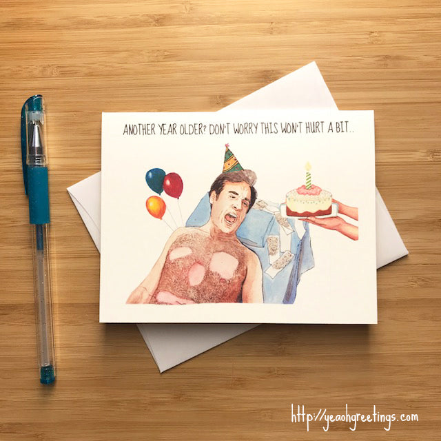 40 Year Old Virgin Birthday Card