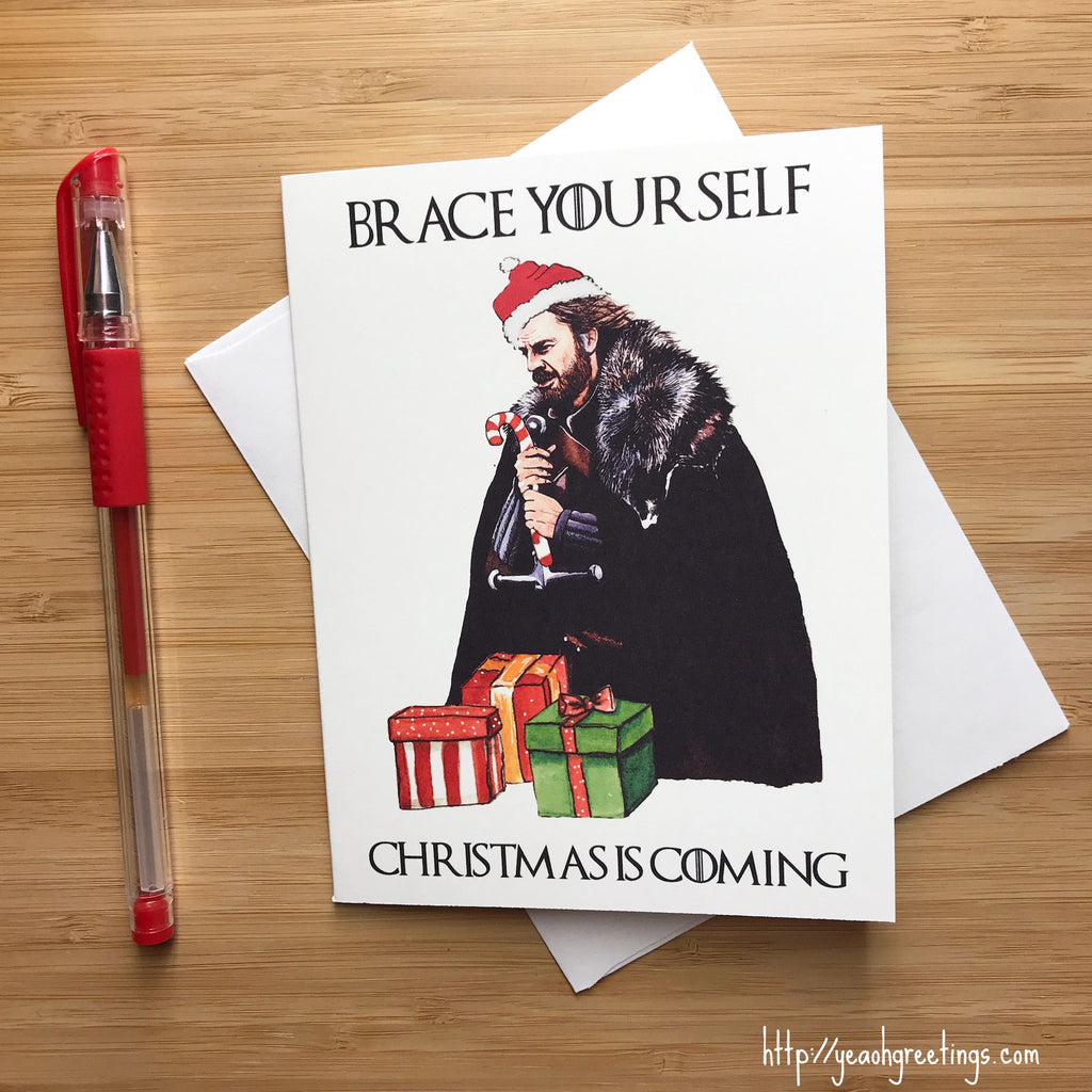 Christmas is Coming Holiday Card