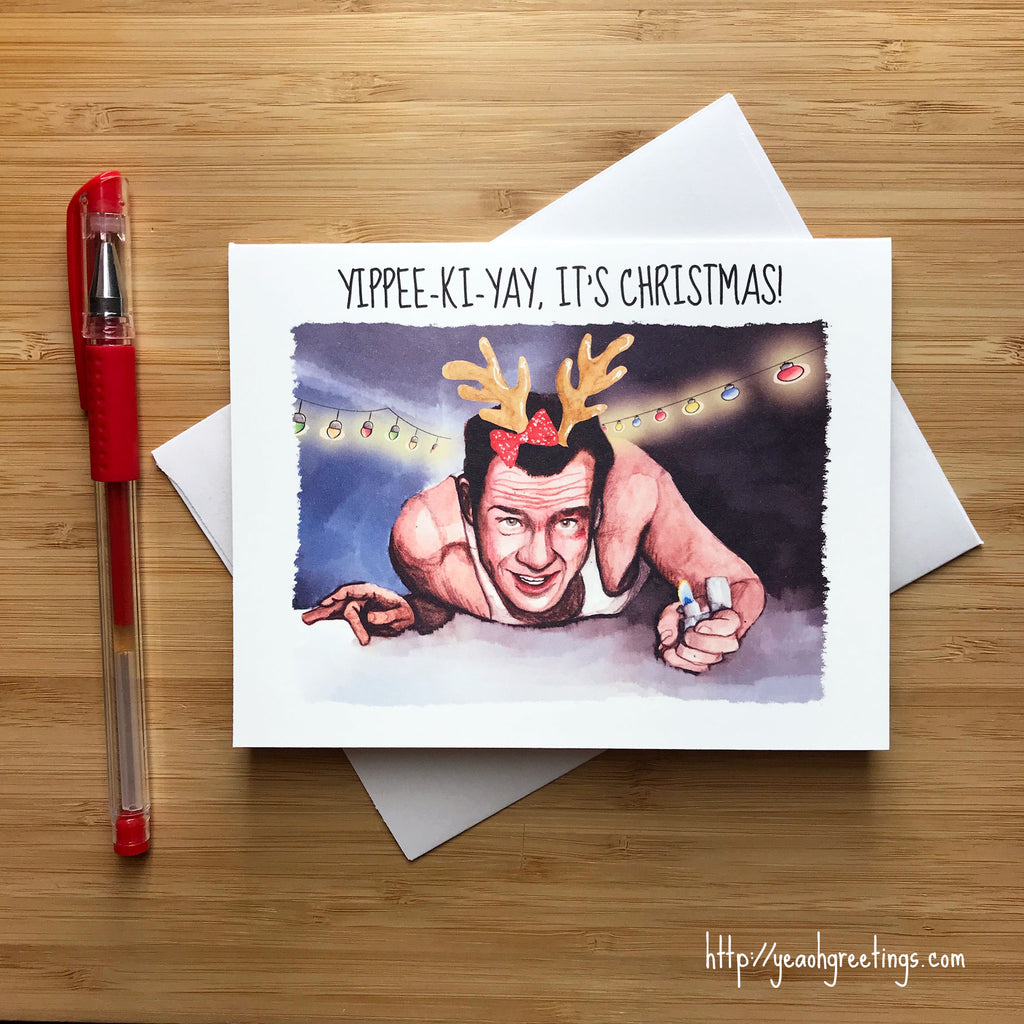 Die Hard Christmas Card