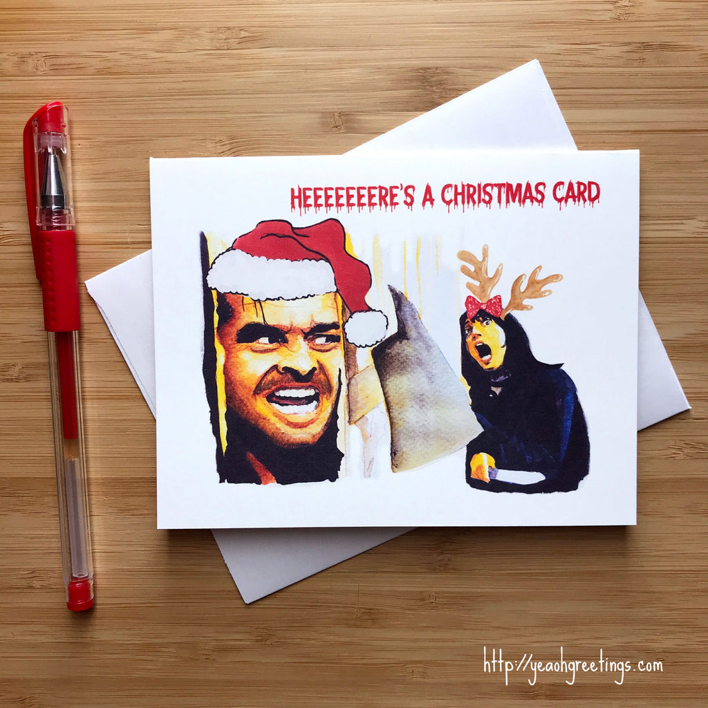 The Shining Christmas Card