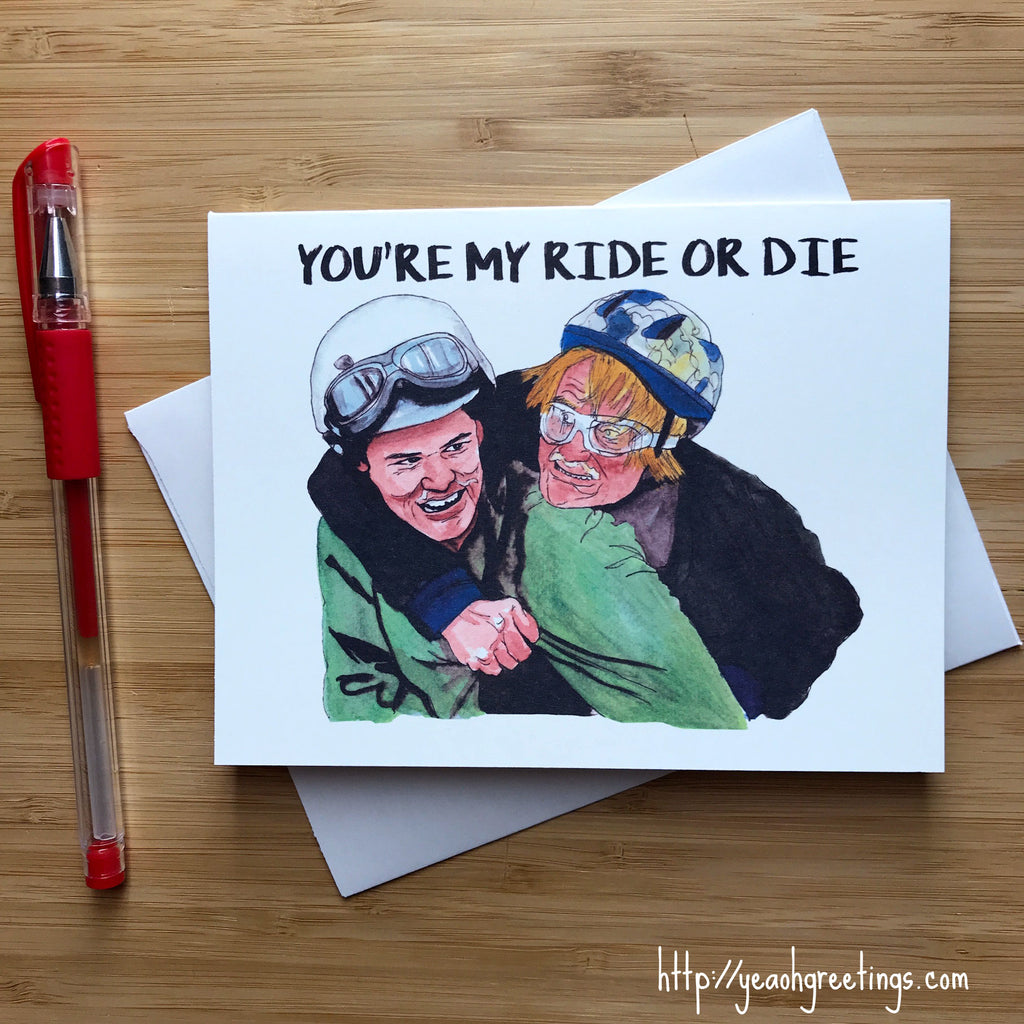Dumb and Dumber Friendship Card