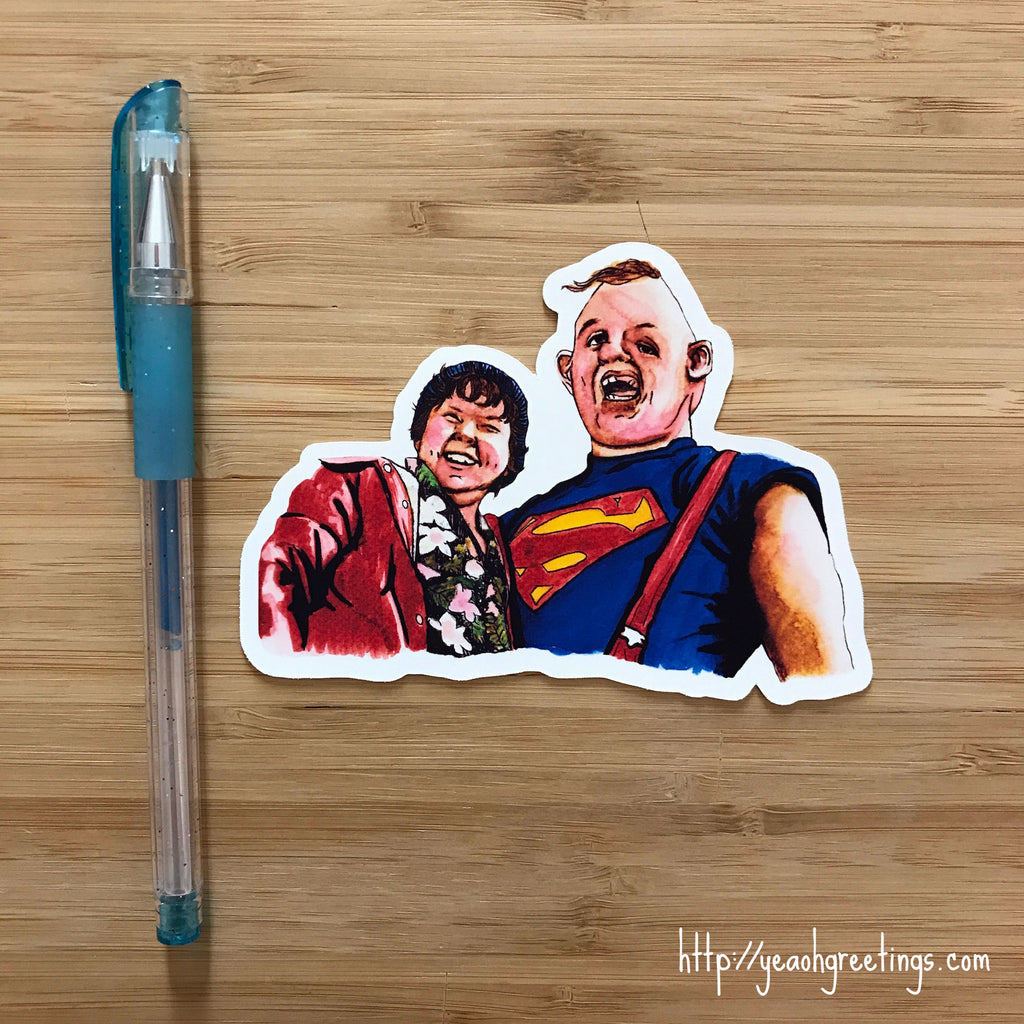 The Goonies Vinyl Sticker