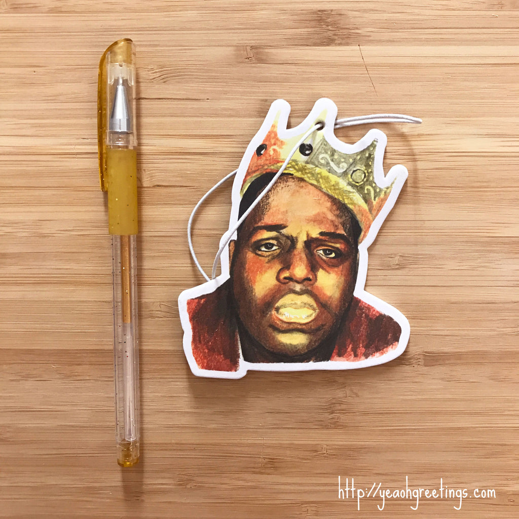 Notorious BIG Air Freshener
