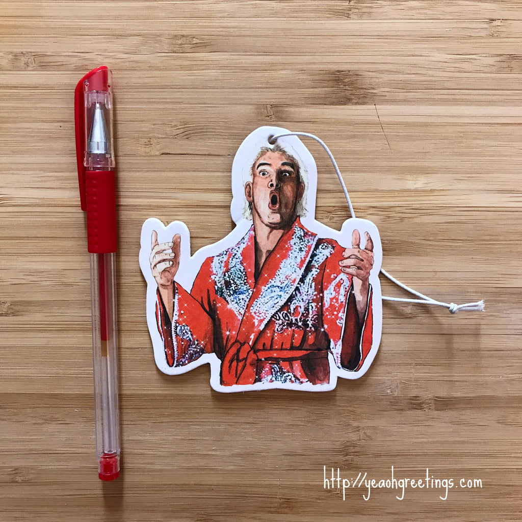 Ric Flair Air Freshener