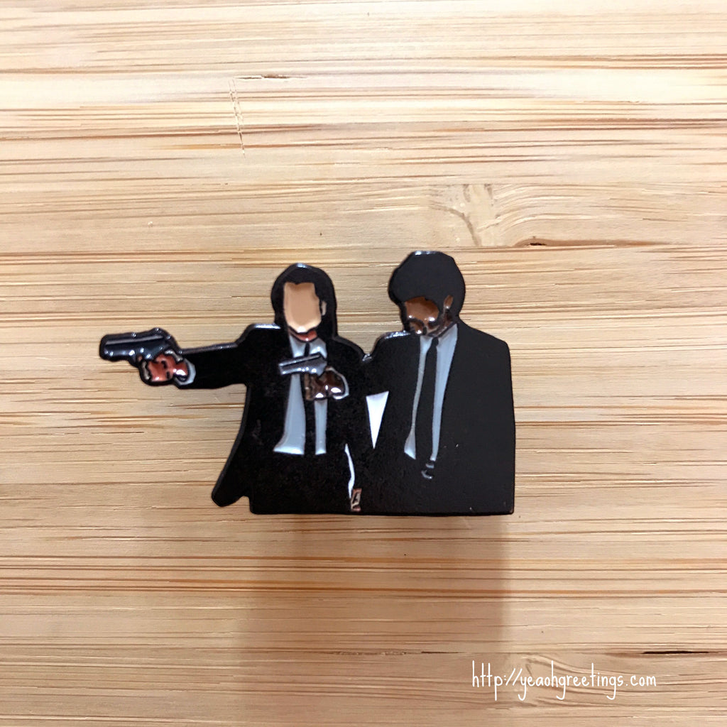 Pulp Fiction Soft Enamel Pin