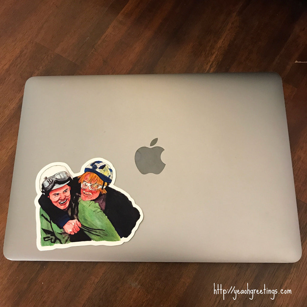 Harry and Lloyd Vinyl Sticker