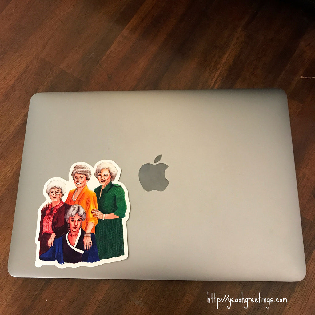 Golden Girls Vinyl Sticker